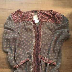 NWT Maurice's blouse NEW ADD